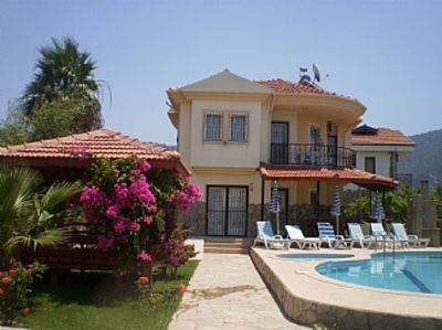 Photo for Villa with Private Swimming Pool and Mountain Views  of Dalyan