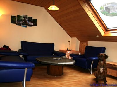Photo for Vacation Apartment Schlossblick Schillingsfürst - Pet friendly Holidays in Middle Franconia