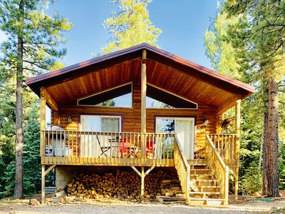 Photo for Sunny Log Cabin Near Zion & Bryce in Duck  Creek Village with Wi-Fi