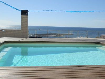 Photo for AP MIRADOR 3,Ideal house for your holidays near the sea, free wifi, air conditioning,community pool, pets allowed, dog's beach.