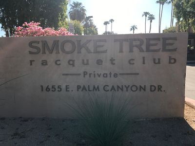 Photo for Smoketree Racquet Club Condo With Fantastic Mountain Views
