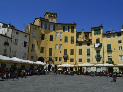 Photo for Stay in the most famous square within historic centre of Lucca! WIFI