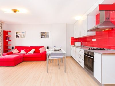 Photo for Beach apartment with sports fields