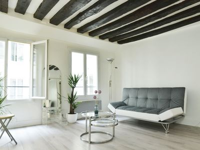 Photo for Cute apartment#2 beds# Rue Saint Denis