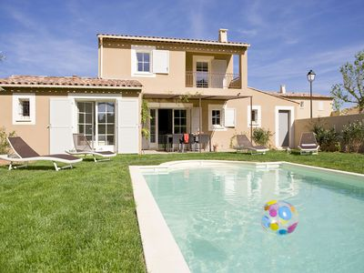 Photo for Luxury villa with private pool located in a small villa park