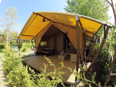 Photo for Glamping in Viareggio aan Zee - Pisa - Lucca - Liguria / Tuscany + Swimming pool ***