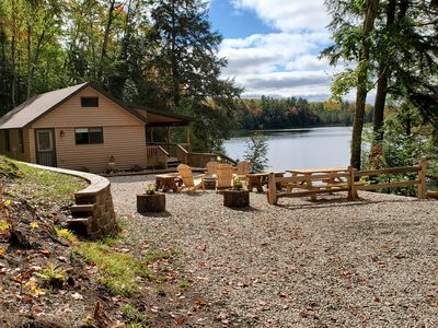 SECLUDED! LAKE FRONT! Just 14 miles to PICTURED ROCKS LAKESHORE, Covered Deck
