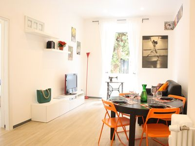 Photo for Holiday home near the center and the most beautiful parks of Rome - 4 + 2