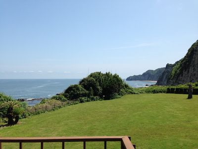 Photo for Ship Rock Point -  Ocean-front, spacious home overlooking Pacific