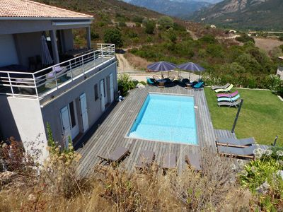 Photo for Superb Villa on the Sagone Heights
