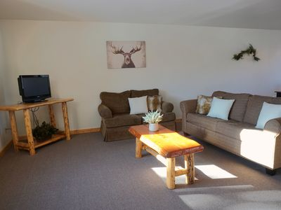Photo for The Aspen - Comfortable Family Condo, just two minutes to Yellowstone