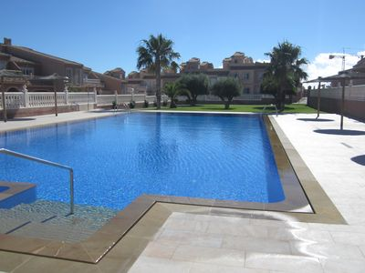Photo for House in Gran Alacant, Monte y Mar Upper, 6 people, beach CARABASSI. Non smokers