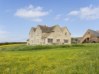 Photo for A beautiful Cotswolds home with outstanding views and 3 acres of garden