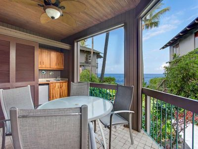 Photo for Comfy Kona-Keauhou Suite w/Kitchen Upgrades, Lanai, WiFi, TV, Washer/Dryer Kanaloa 2102