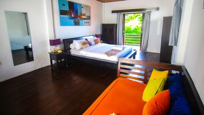 Photo for colorful pool villa at great location