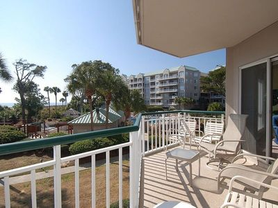 Photo for 1 bedroom, 2 bathroom Windsor Court condo with Ocean views in Palmetto Dunes on Hilton Head Island.