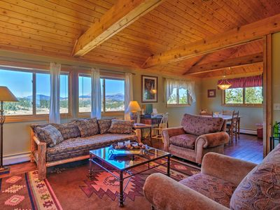 Photo for Ranch of the Rockies Cabin on 4 Acres w/Mtn Views!