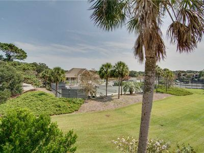 Photo for Tennis View | Full Club Access | Community Pool | Porch | Wifi | 2 BR Seabrook Island Villa