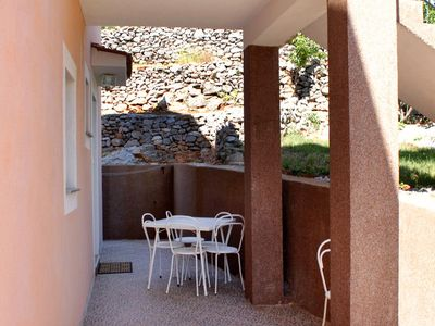 Photo for One bedroom apartment with terrace Senj