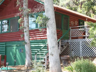 Photo for 1930's Rustic Cabin on Private Honeymoon Cove Estate Sleeps 11