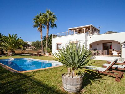Photo for Ibicencan house Olivo in the center of Es Cubells with private pool
