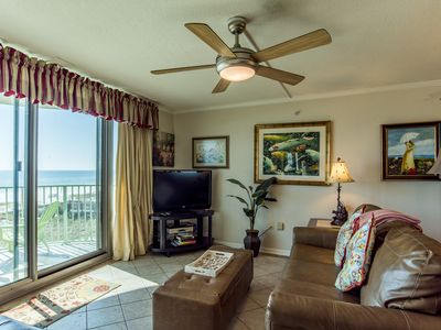 Photo for Breathtaking Views of the Gulf, Gulf Front Condo ~ Private Balcony ~ Communtiy Pool!