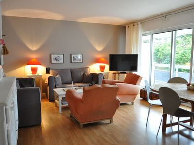 Photo for Charming 90m2 apartment located between rue Saint Jean and the Nautical Base