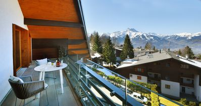 Photo for Modern apartment in the center of Villars-sur-Ollon, Switzerland