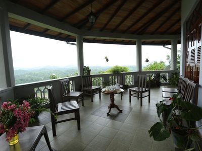 Photo for Holiday bungalow on top of a misty mountain