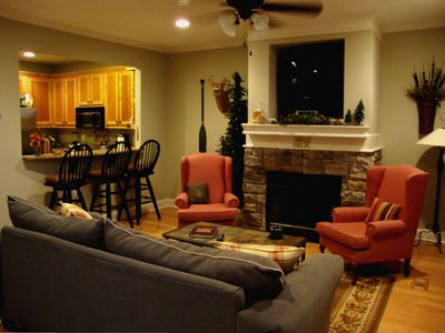 Photo for Luxurious Lake Chatuge 3BR/3BA TH w/Garage & Cov'd Boat Slip $135 per night