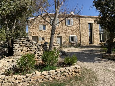 Photo for Traditional Provence house surrounded by lavenders and olive trees
