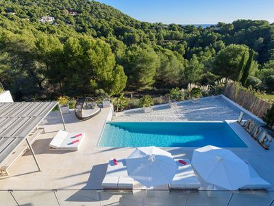 Photo for Villa Q Cap Martinet - luxury 5 bedrooms serviced villa - Travel Keys