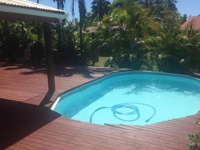Photo for Secluded holiday home with pool