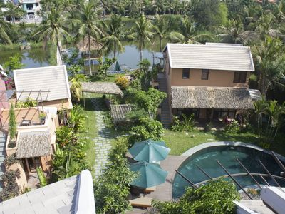 Photo for 2 Bed room Samma Garden View Bungalow- An Villa Hoi An