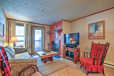 Plan your next alpine escape to this 2-bedroom, 2-bath vacation rental condo.