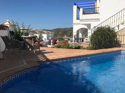 Photo for Beutiful house with magic sea view in Frigiliana with private pool