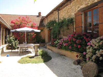 Photo for Spacious And Luxurious Farmhouse, Private Pool And Beautiful Walled Courtyard
