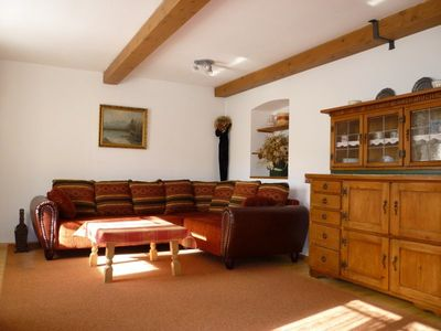 Photo for Large apartment for 2-4 people, 2 bedrooms, garden, playground, mountain views.