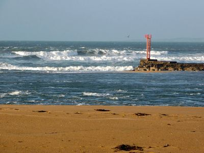 Photo for MORBIHAN - SPLENDID VIEW ON THE RIA AND THE BAR OF ETEL - 15 METERS FROM THE BEACH