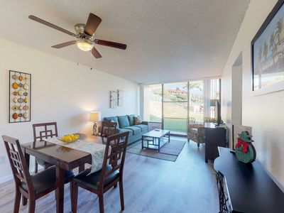 Photo for NEW LISTING! Upscale rental near the beach w/shared pool/hot tub & grilling area