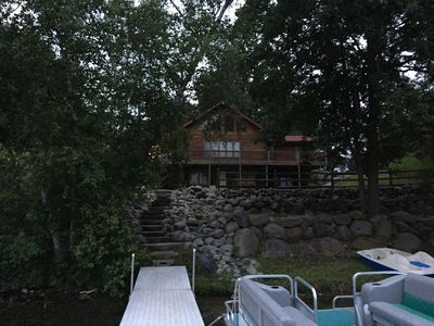 Photo for Log Cabin Lake House