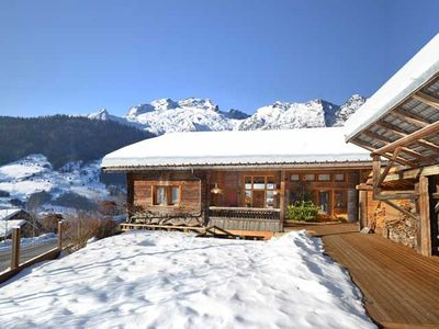 Photo for 5* chalet, for 12 people, indoor pool (9 m), sauna, hammam, Jacuzzi, wine cellar