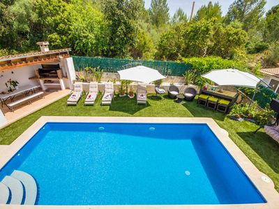 Photo for ☼ Holiday villa with pool, wifi, air conditioning and comfort