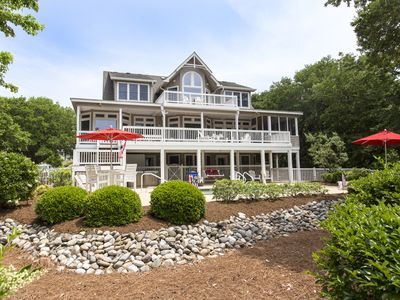 Photo for Ray's the Roof: Currituck Club Amenities, Secluded Location, Private Pool