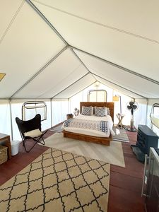 Photo for Glamping Tent with Mountain Views