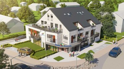 "Photo for Apartment ""Ankerplatz"" New - with 2 bedrooms and 2 balconies - Apartment ""Ankerplatz"" New - with 2 bedrooms and 2 balconies"
