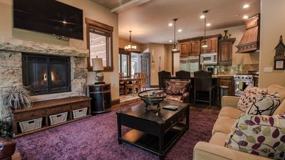 Photo for Walk to Ski Lift from this Beautiful Town Home that offers Great Amenities!