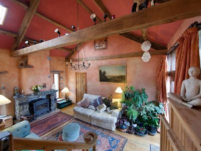 Photo for Imaginatively Converted Traditional Hillside Barn . Uninterrupted Views From Ev
