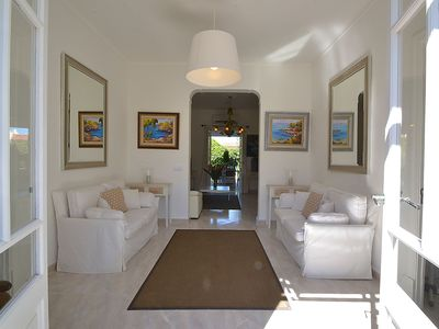 Photo for Beautiful town house with Mediterranean decoration located 100m from the beach