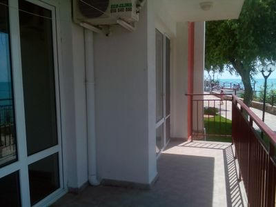 Photo for Ideal family or couple apartment. Great sea views, Pools and beach